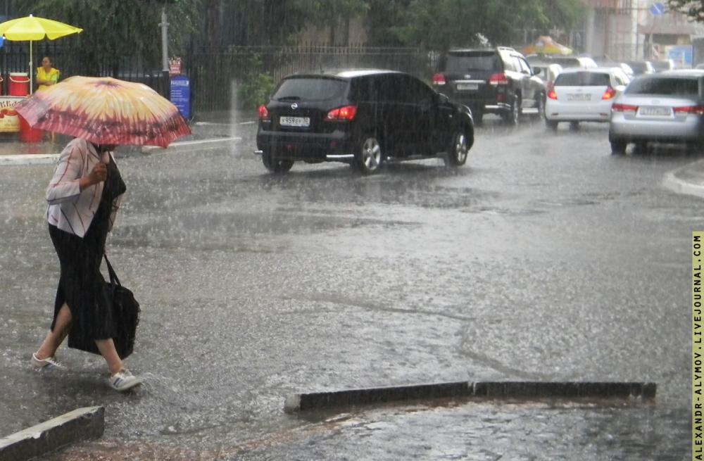 Неделя обещает быть дождливой