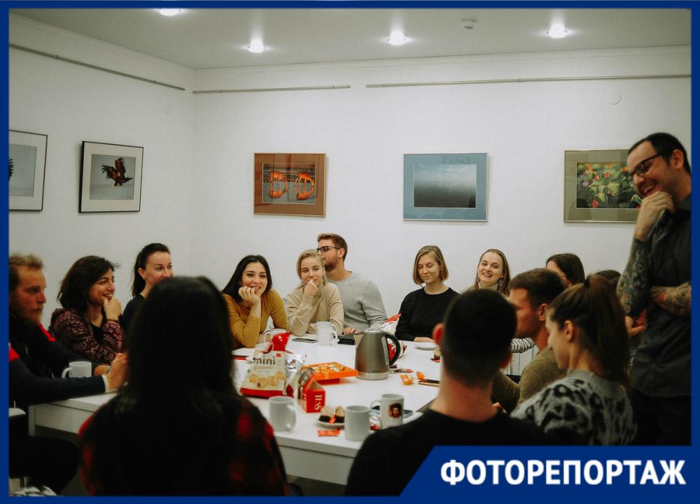 Любители английского языка встретились в «Уютной редакции»