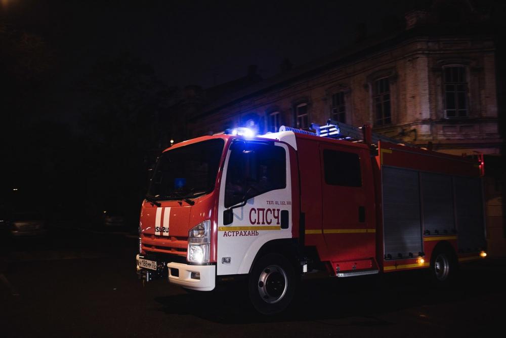 Трое астраханцев погибли в ночном пожаре