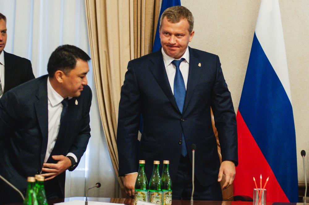 Врио губернатора Астраханской области ушел в отставку
