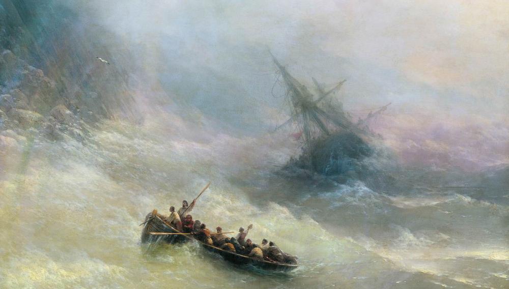 Астраханцы увидят картины Айвазовского бесплатно
