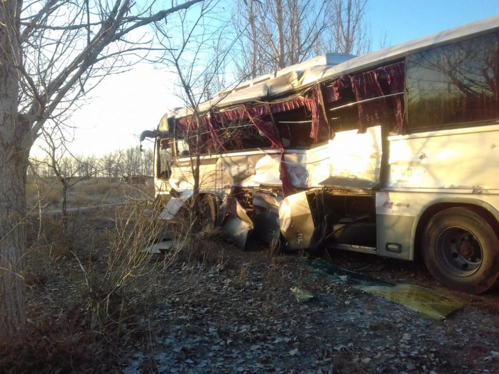 В аварии под Астраханью пострадало более 10 работников Газпрома