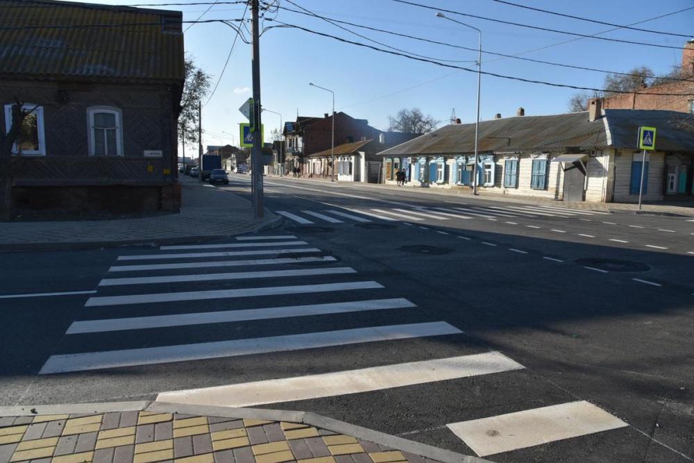 В Астрахани завершили ремонт «самой убитой» улицы в городе