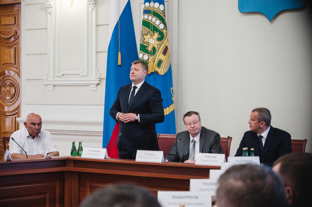 Игорь Бабушкин выдвинулся в губернаторы Астраханской области