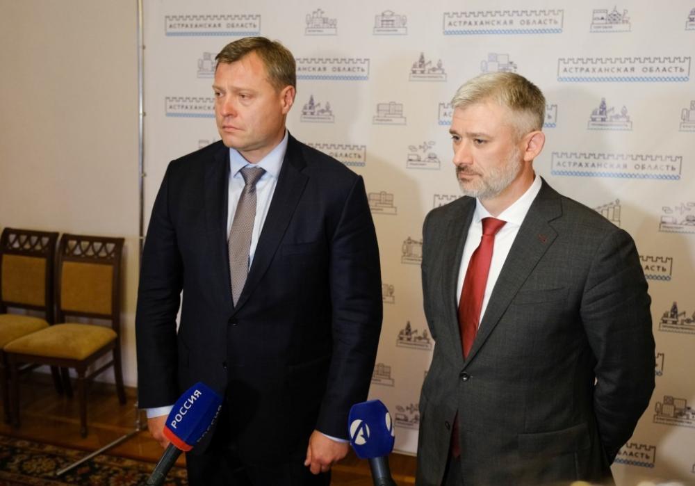 Астрахань посетил глава Минтранса РФ Евгений Дитрих