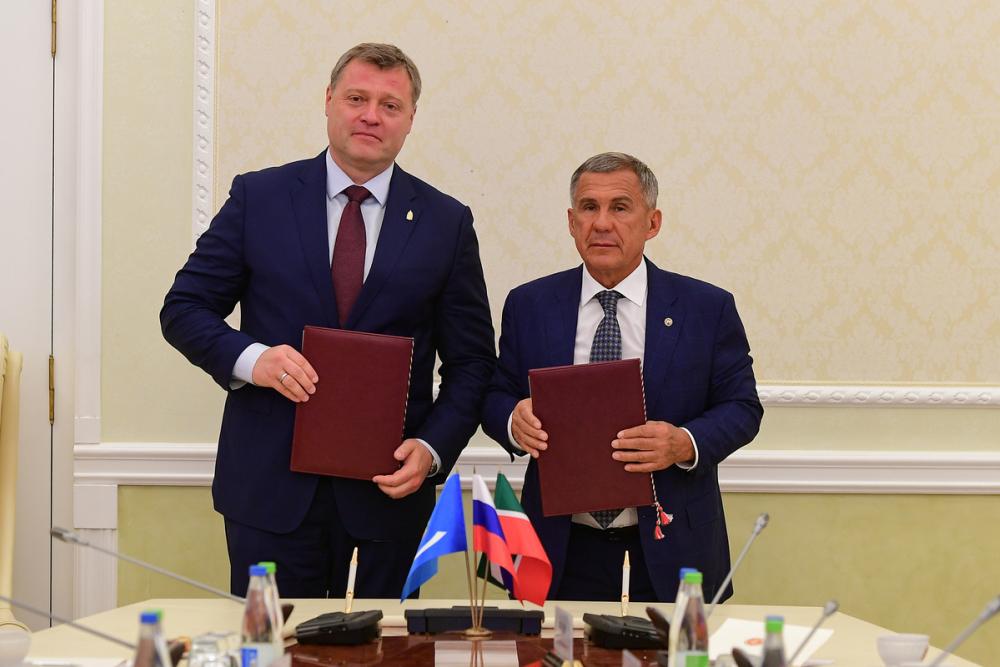 Астраханская область и Татарстан обсудили перспективы расширения сотрудничества