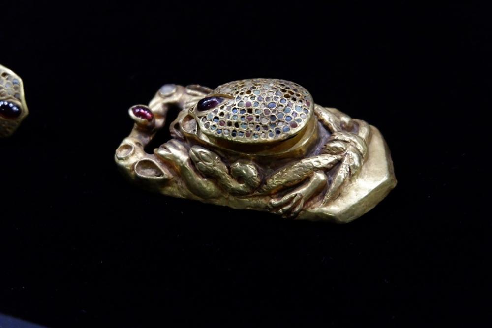 В Астрахани обновлена выставка  «Золото кочевников»