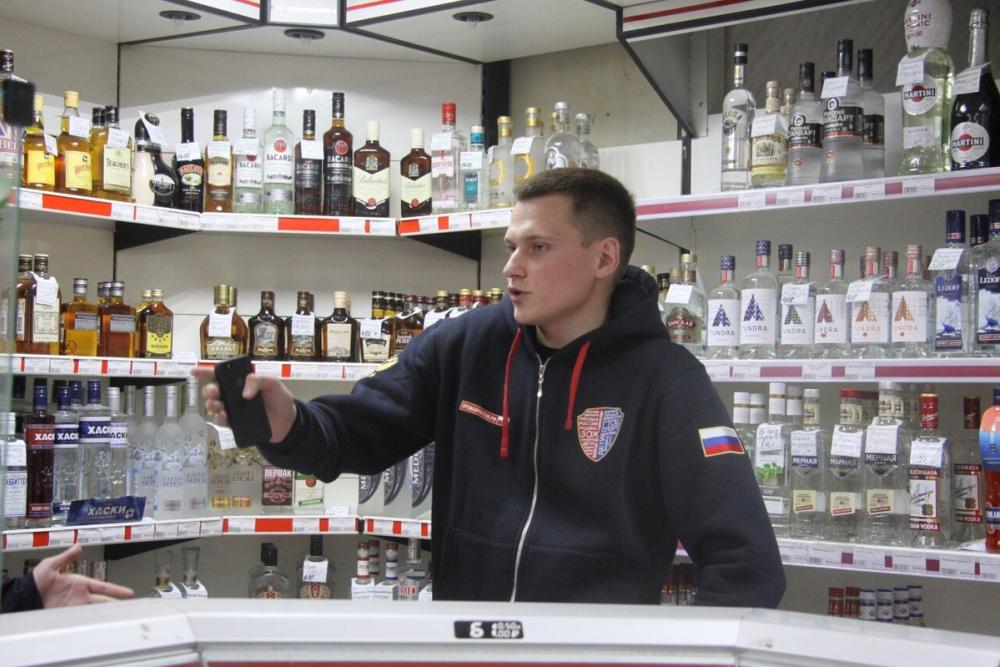 Активисты «Трезвой России» «накрыли» очередной магазин