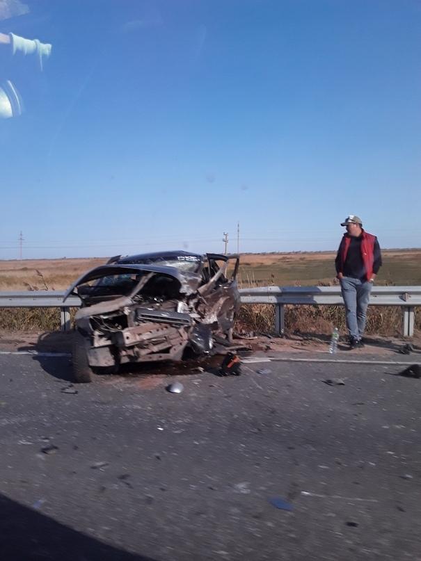Под Астраханью произошло очередное смертельное ДТП