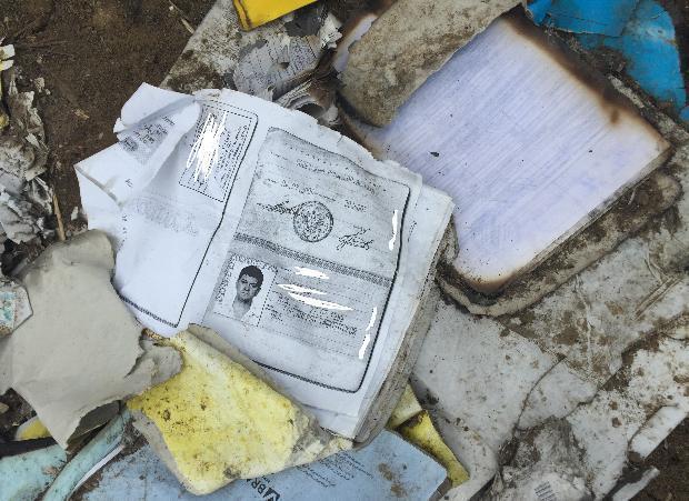 Документы с личными данными астраханцев нашли в степи