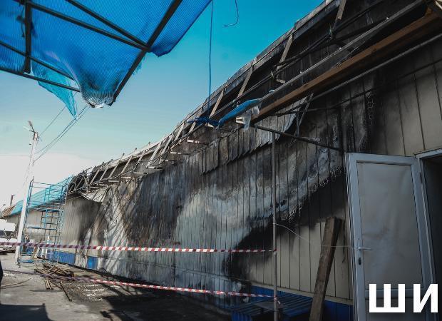 Рынок «Маяк» в Астрахани: жизнь после пожара