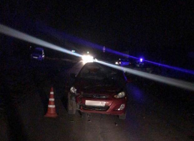 В Астрахани на Рождество мужчина погиб под колесами такси