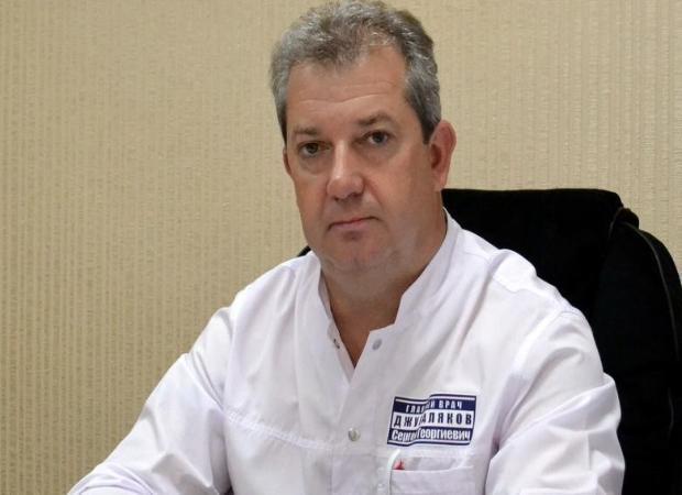В Астрахани отправлен в отставку главврач Джуваляков