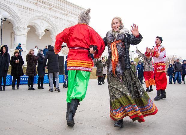 Фотоотчет с рождественского гулянья в Астрахани