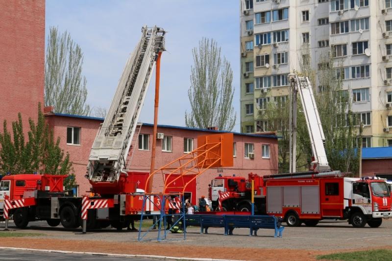 Астраханская пожарная часть признана лучшей в России