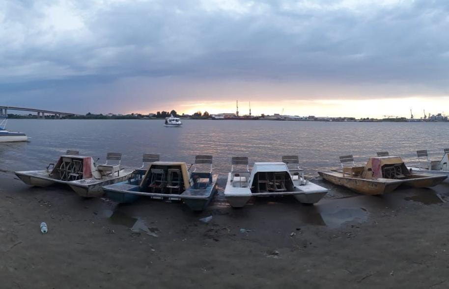 В Астрахани катание на катамаране закончилось трагедией